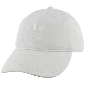 Gorra Strapback Relaxed Fit adidas Originals, Blanco / Blan