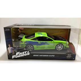Autos Fast&furious Mitsubishi Eclipse Escala 1:24