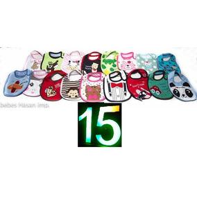 Pack De Baberos 15 Unidades Oferta Impèrdible / Envio Gratis