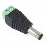 Conector De Corriente Macho De Tornillos Para Cable Utp Cctv