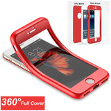 Forro Estuche 360 Iphone 5 5s Se 6 6s 7 & Plus Antishock