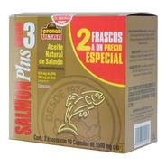 (duo Pack) Salmon Plus Omega 3 (180 Caps) Pronat Ultra