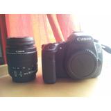 Canon 60d + Lente 18-55mm + Accesorios