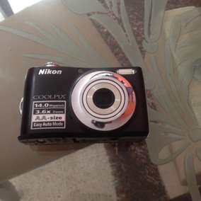 Camara Usada Nikon Coolpix L24 14 Megapixeles