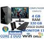 Pc Computador Cpu Cafe Internet Colegios Hogar Lcd17 Wifi