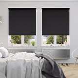 Cortinas Roller Con Guias Laterales Black Out Premium 100%