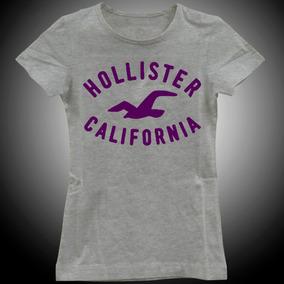 Camisa Camiseta Baby Look Feminina Hollister California