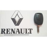 Llave Telemando Y Chip Renault Twingo-clio Original