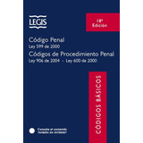 Codigo Basico Penal Y Procedimiento Penal 18a Edición Legis
