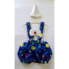 Fantasia Infantil Palhaço - Palhacinho Carnaval - Para Bebê