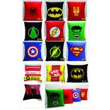 Almofada Personalizada Decoração Super Heróis E Divertidas