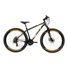 Bike Caloi Vulcan Aro 29 Alumínio Susp Diant 21 Vel - Cinza
