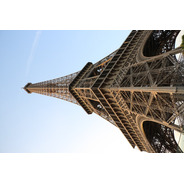 Cuadro 1-torre Eiffel-paris 20x32 Pulgadas C/marco Madera