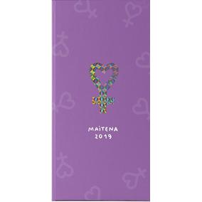 Agenda Maitena 2019 Pocket - Violeta - Maitena