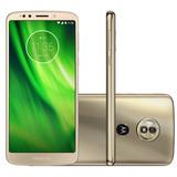 Smartphone Motorola Moto G6 Play Ouro Dualchip 32gb Tela 5.