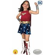 Disfraz De Super Dc Heroes Wonder Woman Para Niño, Pequeño