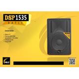Bafle Amplificado Melo De 15 Con Dsp Y 500w Rms-1000w Progam