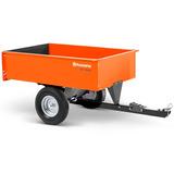 Carreta Basculante Husqvarna Para Trator De Grama 340l 450kg