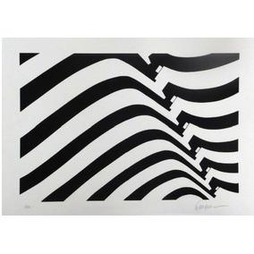Kleber Ventura- Gravura Abstrata / Tiragem Limitada: 53/55