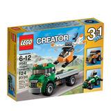Cr Transporte De Helicóptero Lego - 31043