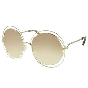 b0d5767b3a37b Oculos De Sol Chloe Carlina - Óculos Outros no Mercado Livre Brasil