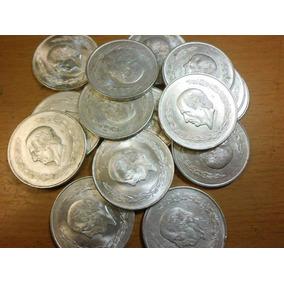 Moneda 5 Pesos Hidalgo Grande Plata Ley 0720
