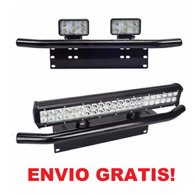 Base Universal Frontal De Placa Para Faros Y Barras De Led