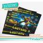 Transformers - Invitación Para Imprimir