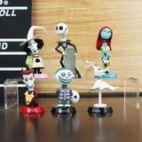 Kit 6 Miniaturas O Estranho Mundo De Jack Nightmare A097