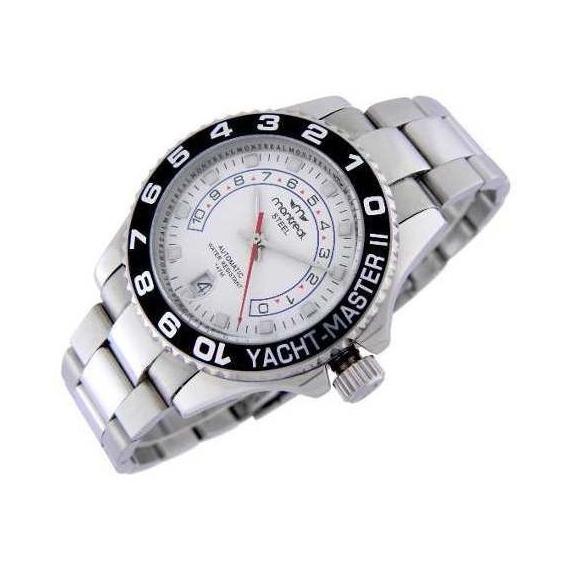 Reloj Montreal Hombre Acero Automático Ml300 Envío Gratis