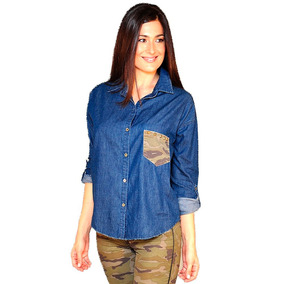 Camisa Julio Mirta Armesto Mujer Casual De Jean