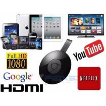 Google Chromecast 100% Boa Cromecast 1080p Netfix