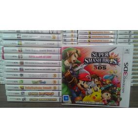Super Smash Bros - Mídia Física - Lacrado Novo 3ds Original