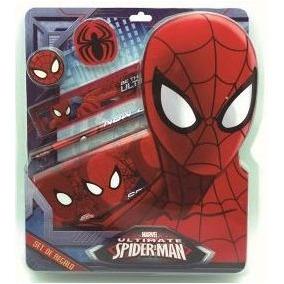 Set De Regalo Spiderman Hombre Araña Original Ha292 Yo Gane