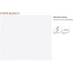 Ceramica Forte Blanco 33 X 33 - San Lorenzo -
