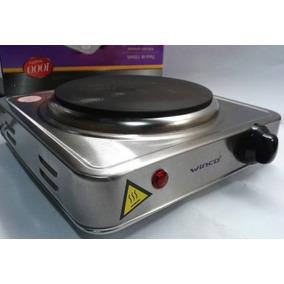Anafe Electrico 1 Hornalla Inoxidable Winco W40 1000 W