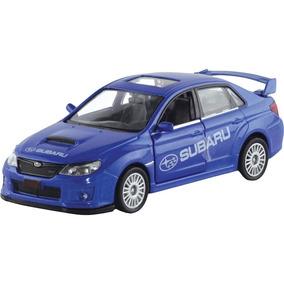 Carrinho Tunado Irado Subaru Wrx Sti Azul - Dtc