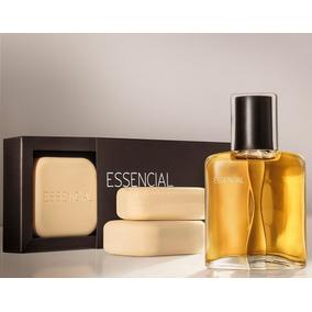 60%off Natura Presente Perfume Essencial 50ml+3 Sabonetes+cx