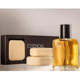 65%off Natura Presente Perfume Essencial 50ml +3 Sabonetes