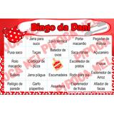 Arte Digital 100 Cartelas De Bingo Chá De Cozinha Ou De Bebê