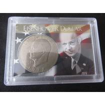 Moneda Eisenhower One Dollar 1972