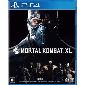 Mortal Kombat Xl 100% Em Português Mídia Física Ps4