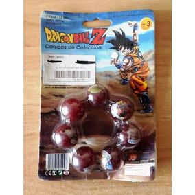 Set Con 7 Canicas Colección Dragon Ball Z 100% Vidrio