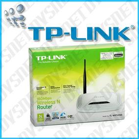 Router Tp-link 741nd 1 Antena Desmontable De 150mbps