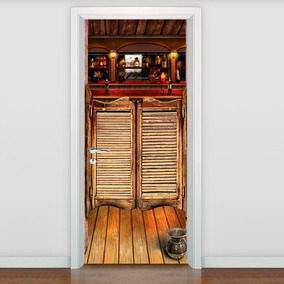 Adesivo Decorativo Para Porta Bar - Limite Máx 215x98cm