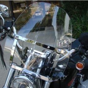 Grandes 19 X 17 Motos Parabrisas Claro Para Harley Honda