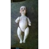 Muñeca De Porcelana Alemana Antigua