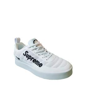 Tenis Zapatillas Nike Supreme - Blanca Hombre 2018