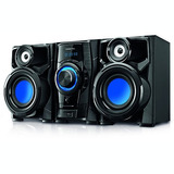 Mini Sistema Punktal Megasound 260 W. Cd Mp3 Usb Radio Am Fm