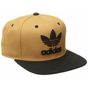 Gorra Addidas Original Color Ocre Con Negro